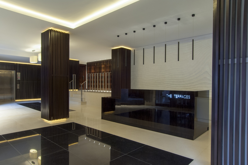 high-end finishes completed refurbishment