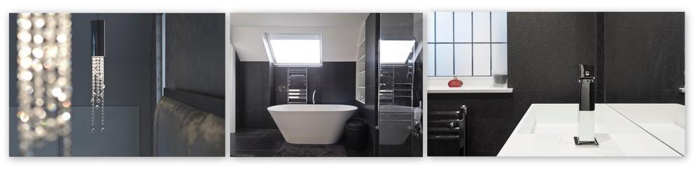 Studio Basheva details master bedroom ensuite cloakroom lights