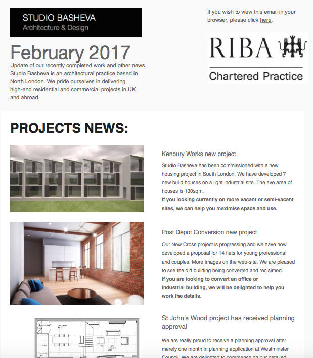 February News by Studio Basheva Architecture