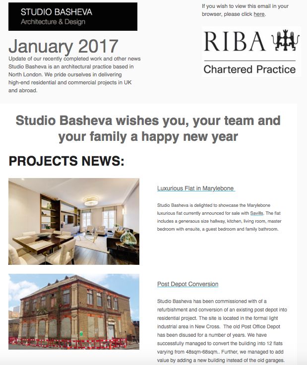 January News by Studio Basheva