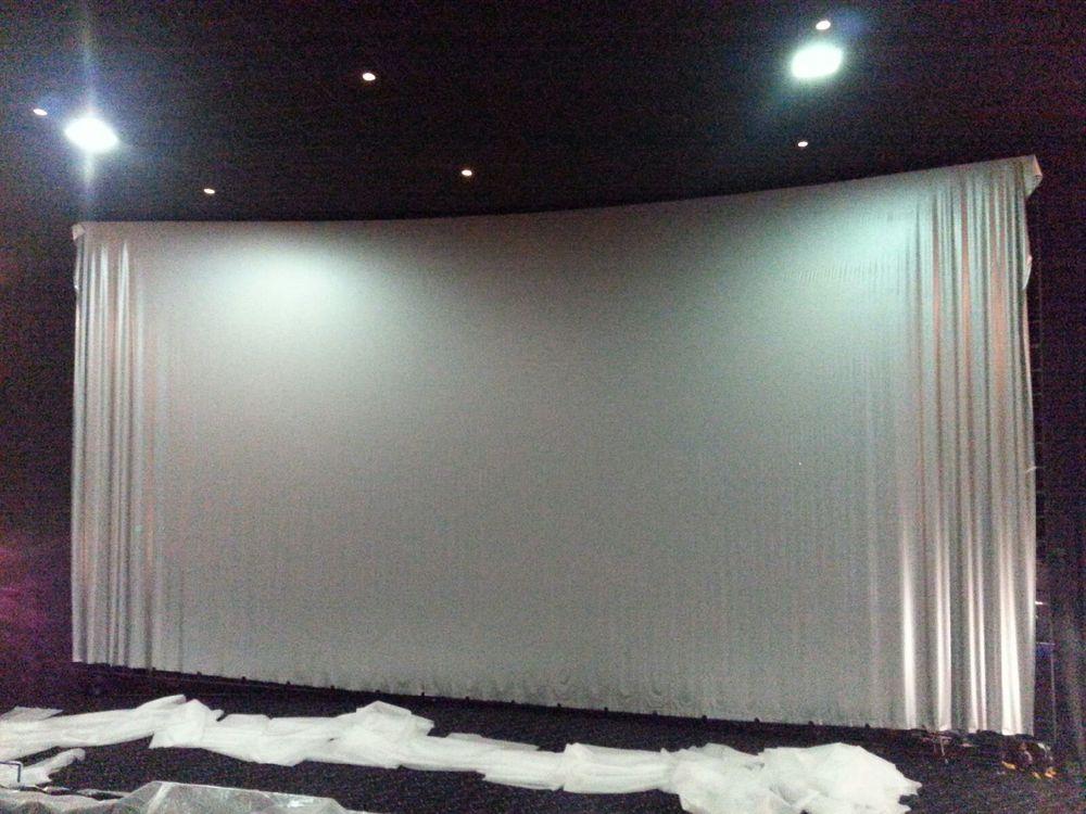 Imax Screen installation