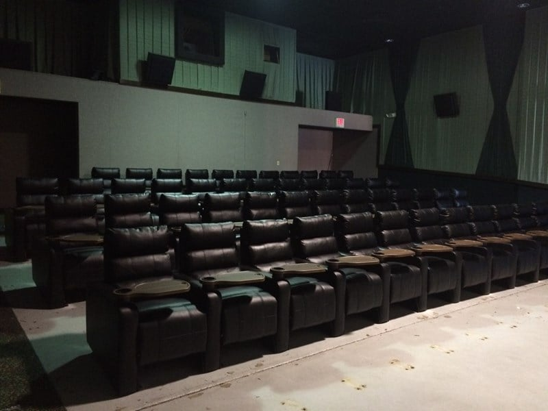 VIP Cinema Seating installation