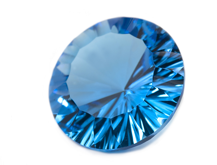 How stunning is this London Blue Topaz? Image courtesy of Alex Sharp Photography
