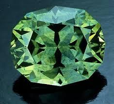 Gorgeous green sapphire