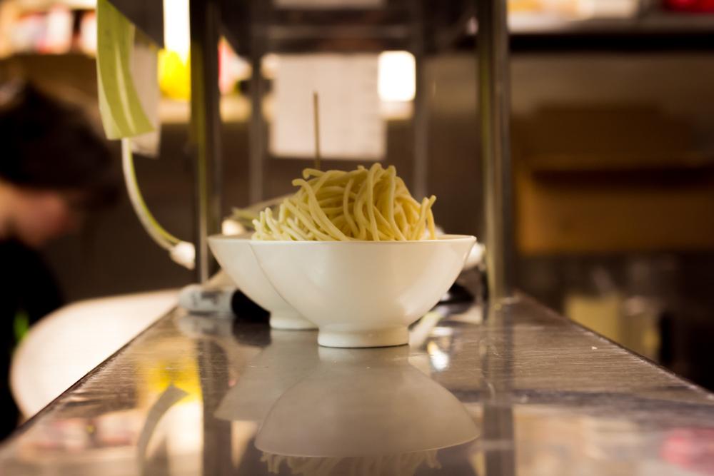 Udon noodles.