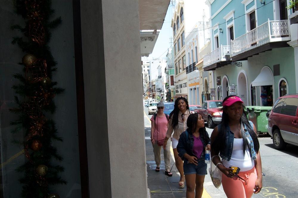 Shopping and exploring Old San Juan
