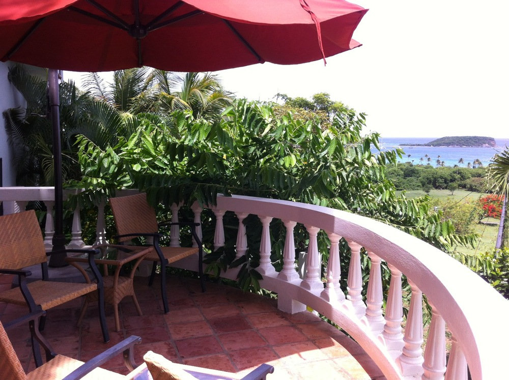View from the inn at Vieques