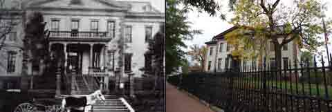 Our first stop was an old mansion that used to be a naval hospital for people who fought in the Civil War.