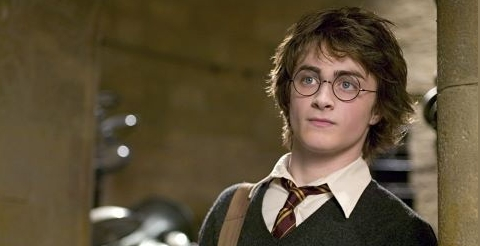 """Daniel Radcliffe whos plays Harry Potter in """"The Goblet of Fire"""" (2004)."""