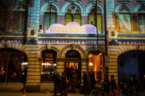 Secret Cinema, The Grand Budapest Hotel