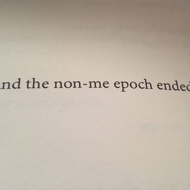 and the non-me epoch ended (#blepharism) (#32) H_NGM_N Books