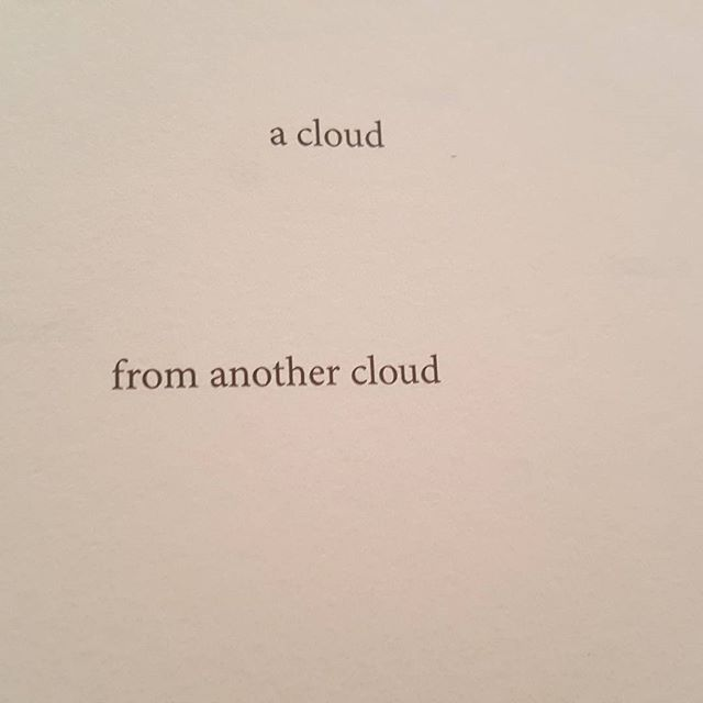 a cloud  from another cloud * (#blepharism) (#37) H_NGM_N Books