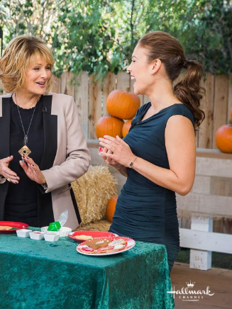 Erin Krakow on Home & Family, November 2014
