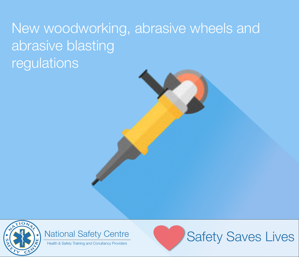 Abrasive Wheels Regulations Safety, Health and Welfare at Work (General Application) Regulations 2016 (SI 36/2016)
