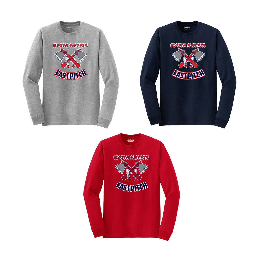 04d02fc3 EYOTA 50/50 Long Sleeve T-Shirt — Embroidery & Screen Printing Network