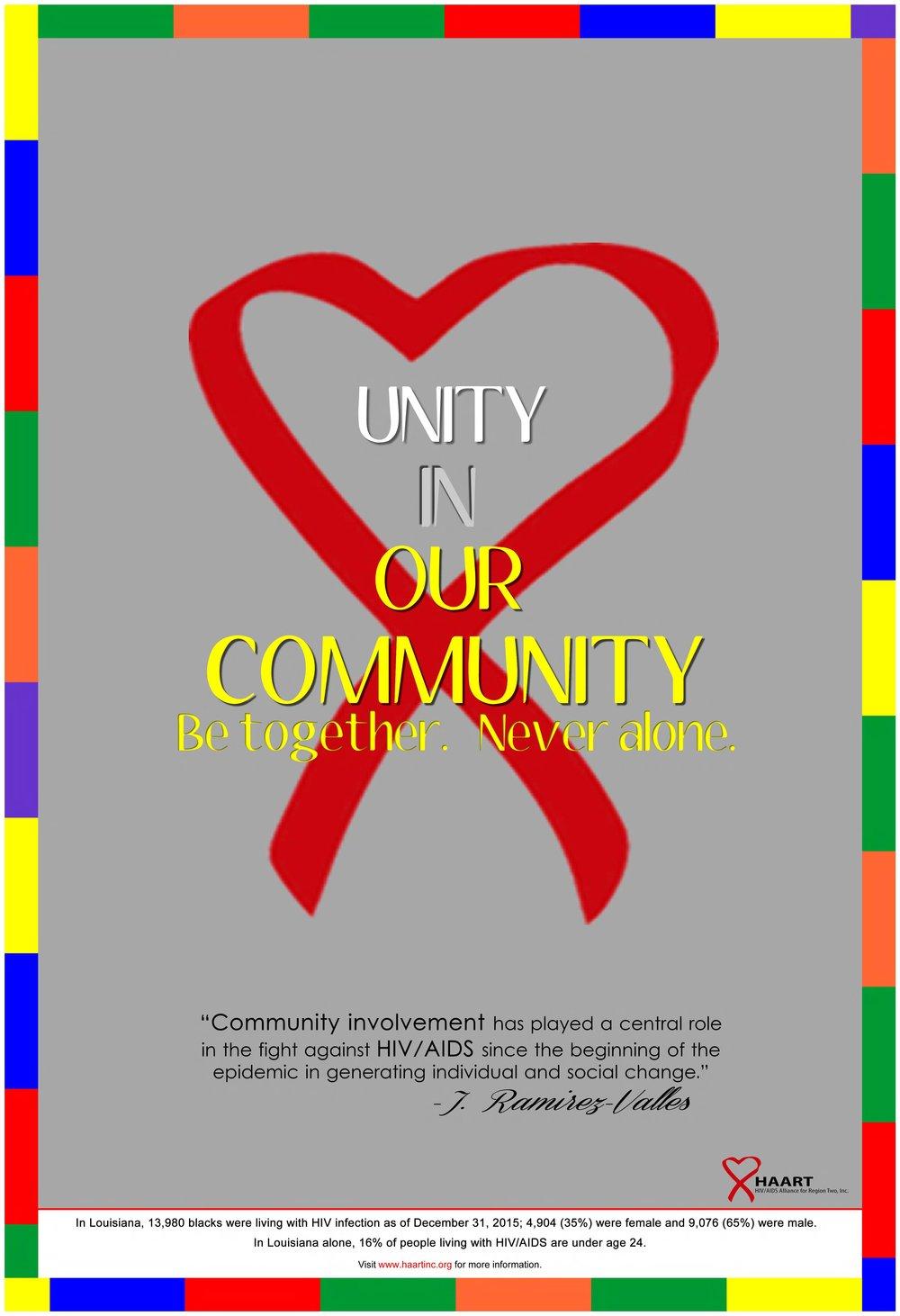 World AIDS Day Poster Contest — HAART 64b7c29dd6fd6