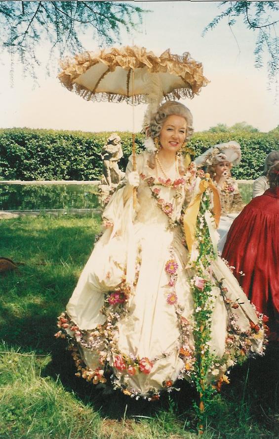 Robe de danseuse 18e siècle. Création : Agnès Szabelewski