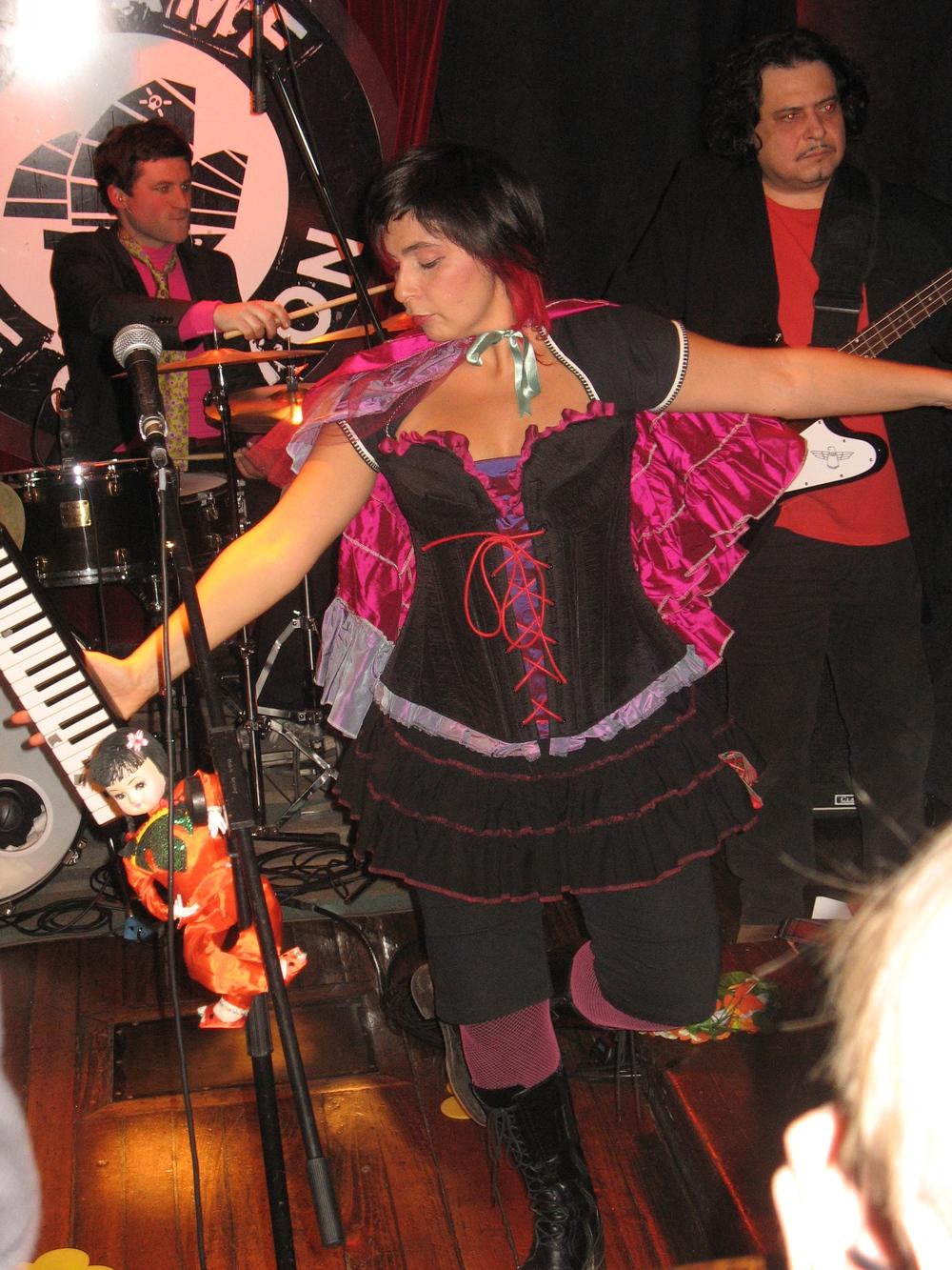 Costume de scène pour la chanteuse Lune