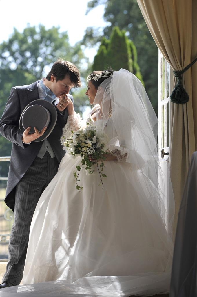 Voile de mariée long en tulle fin, froncé, sur mesure