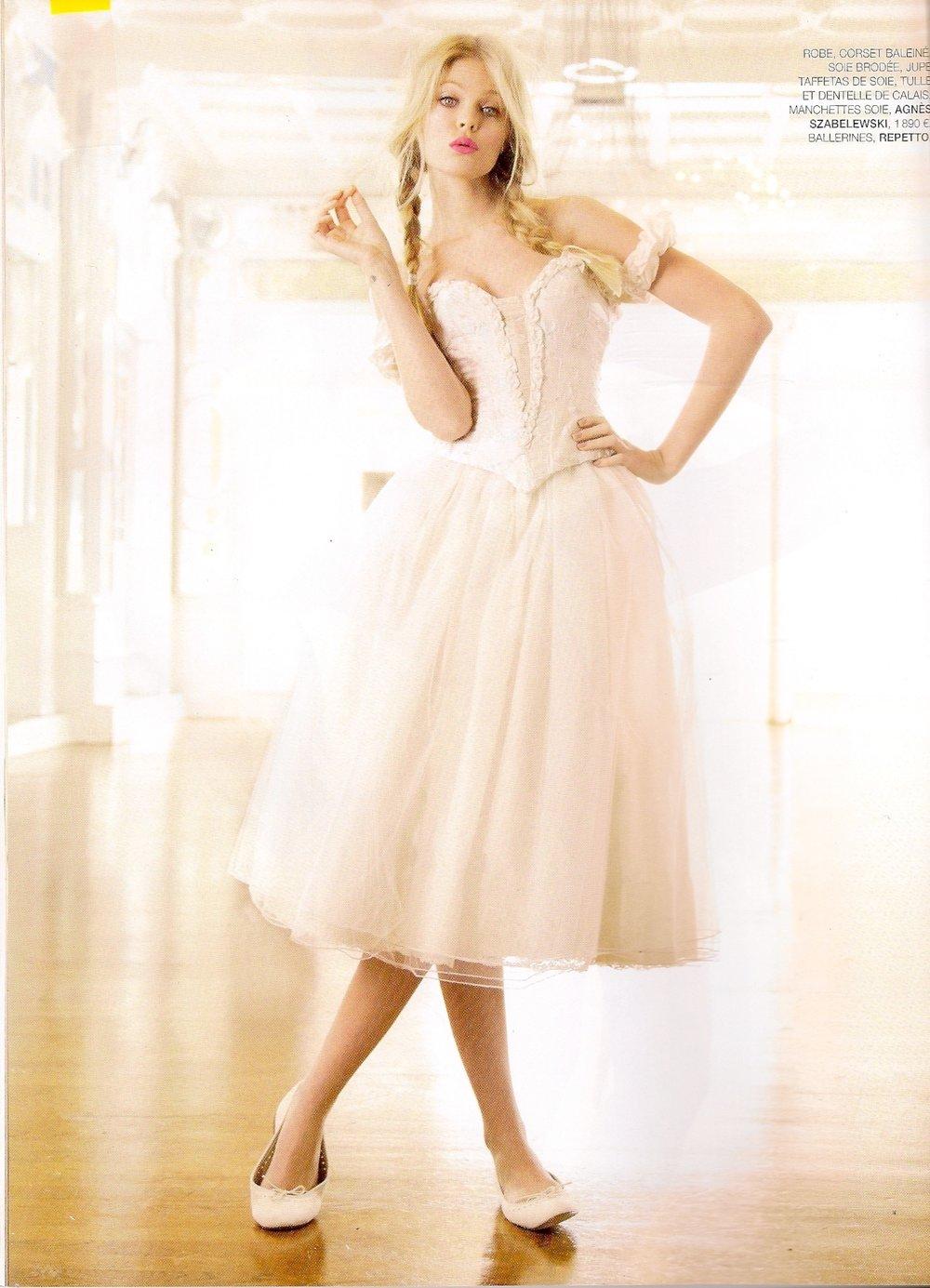 Robe de mariée Ballerine  courte Agnes Szabelewski.jpg