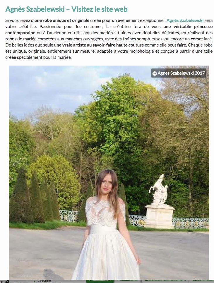 Cliquez sur la photo pour visualiser l'article sur Zankyou.fr