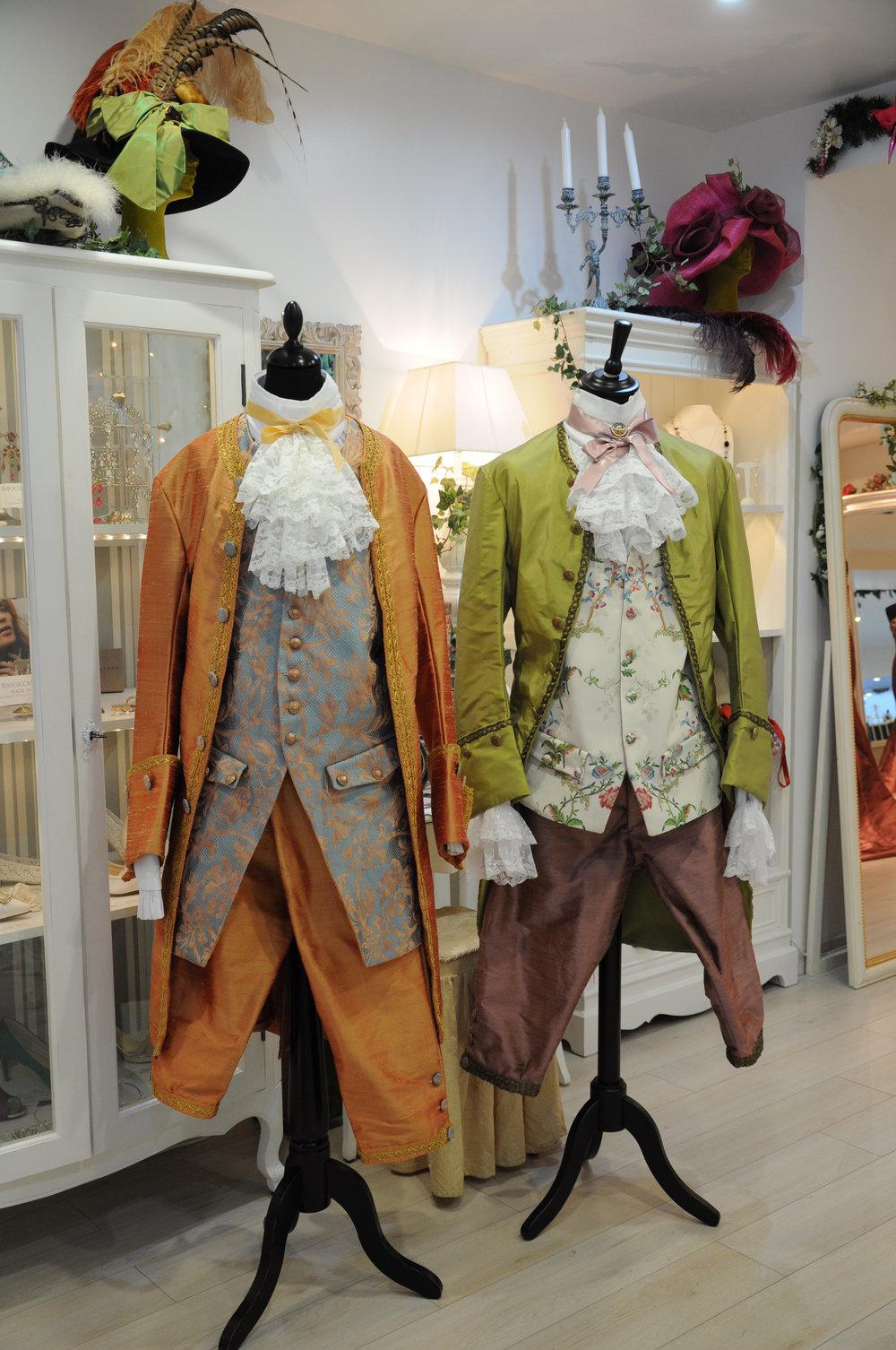 Costumes XVIIIe siècle hommes pour ReminiSens par Agnès Szabelewski.jpg
