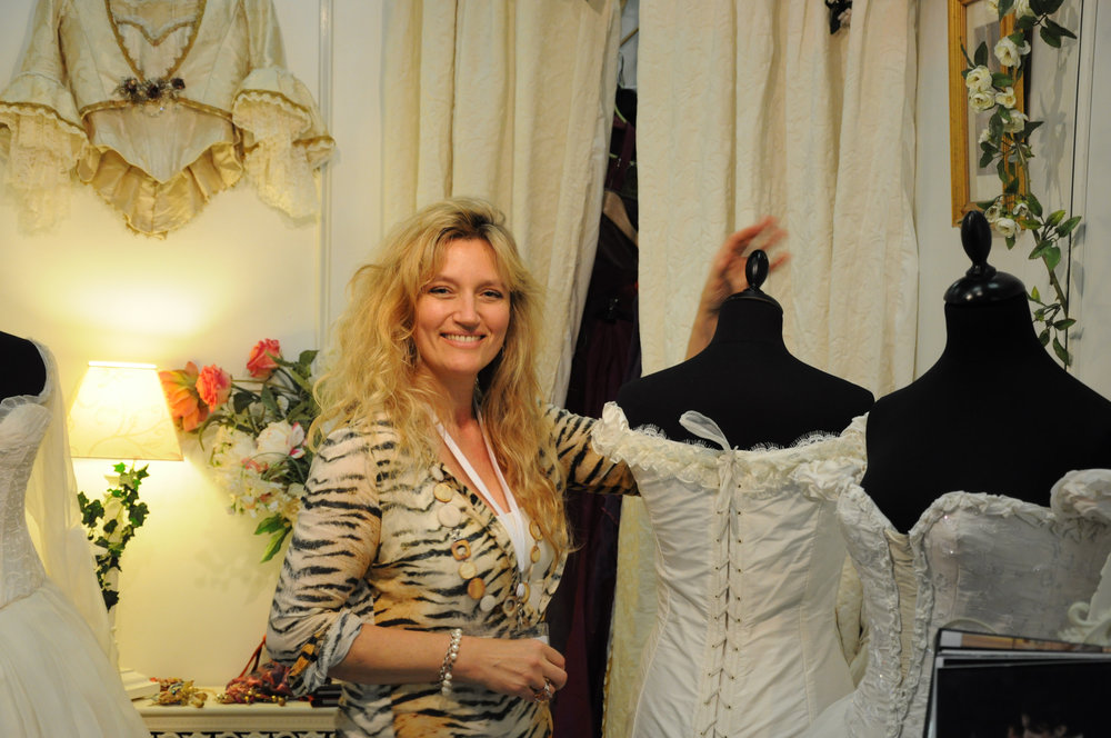 Agnès Szabelewski au salon du mariage