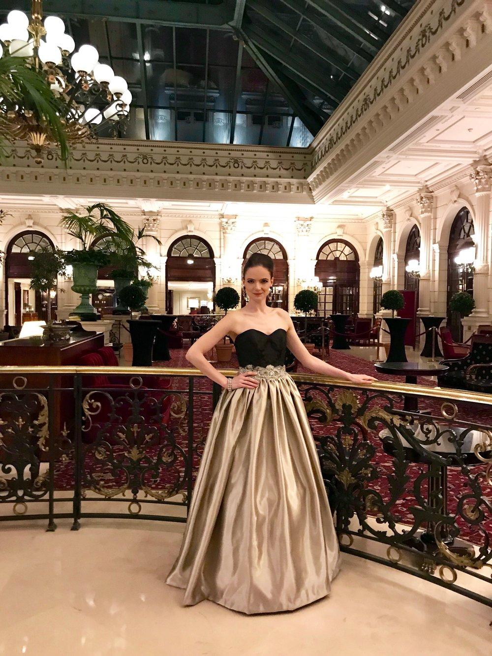 Robe de bal Agnes Szabelewski pour le bal des parisiennes model Malory.jpg