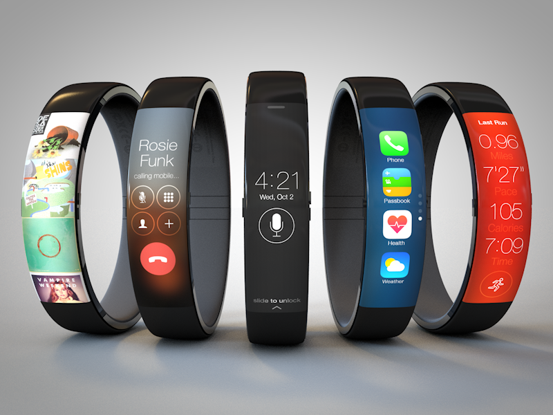 Todd Hamilton's iWatch Concepts
