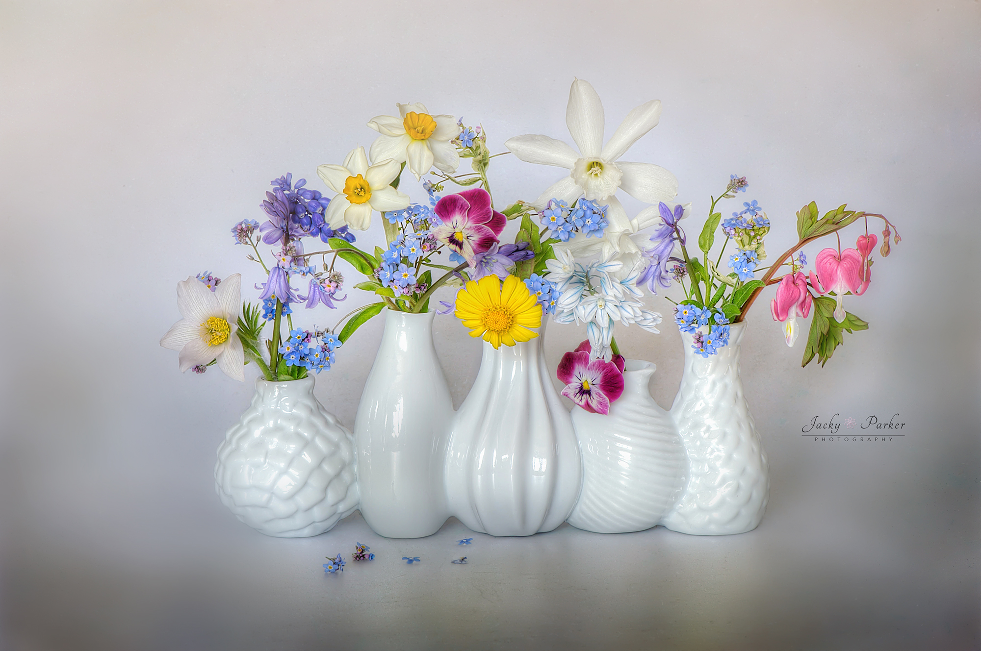 Still Life Flowers Jacky Parker