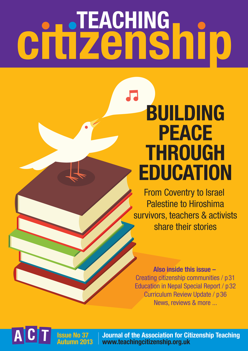 Teaching Citizenship 37 Cover