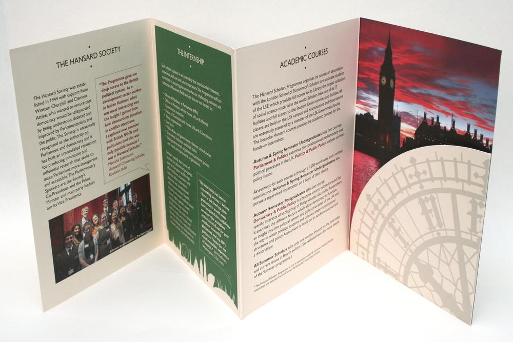 Hansard Scholars Programme: interior