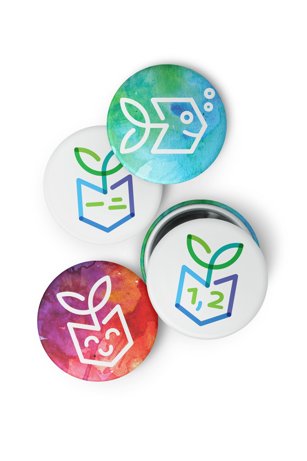 Yi Er badges