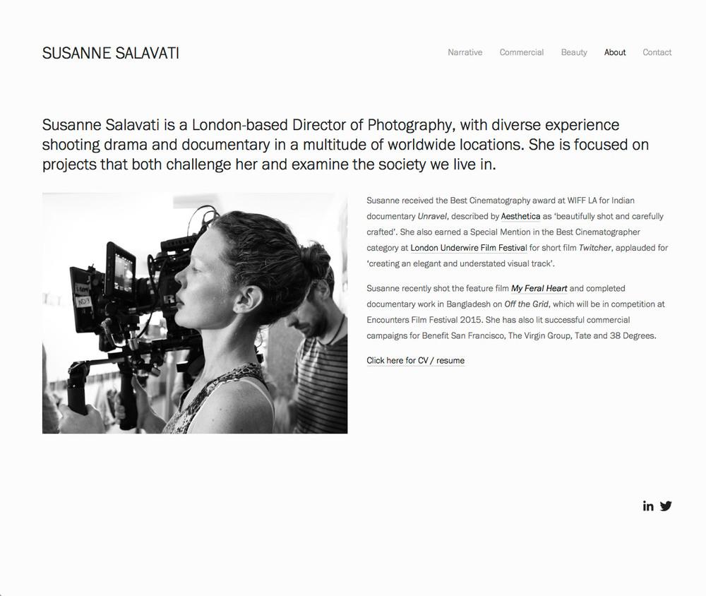 Susanne Salavati About