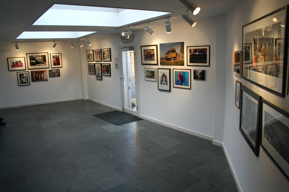 Installation view of the show