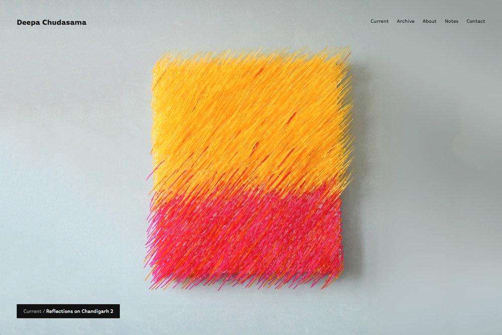 Deepa Chudasama — Visual artist