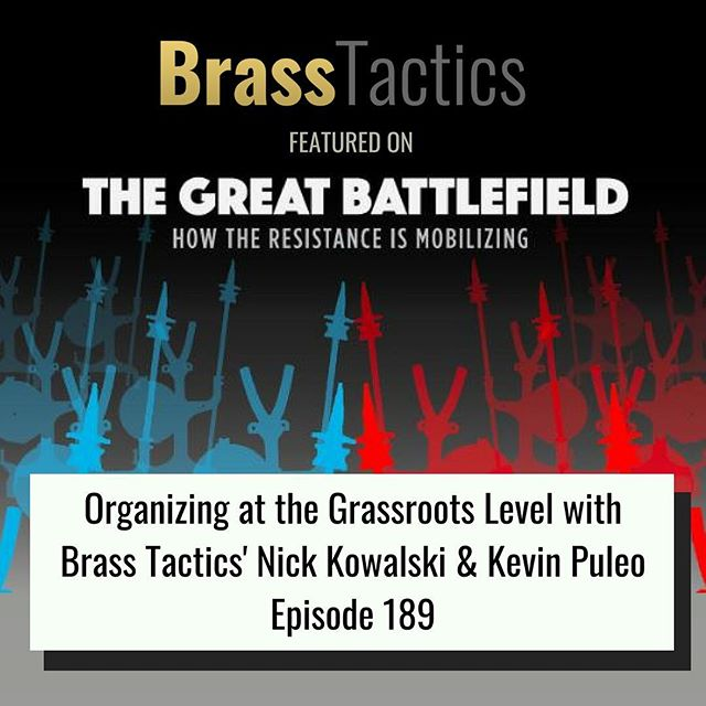 We are excited to share our experiences and insights on today's episode of The Great Battlefield podcast! Tune in to hear our very own Kevin Puleo and Nick Kowalski discuss BT's approach to grassroots organizing, mobilization and community building. Link in bio! #grassroots #organizing #campaign #movement #changemakers
