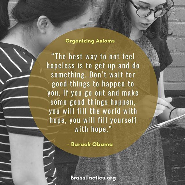 #Grassroots #Organizing #BeTheChange #GOTV