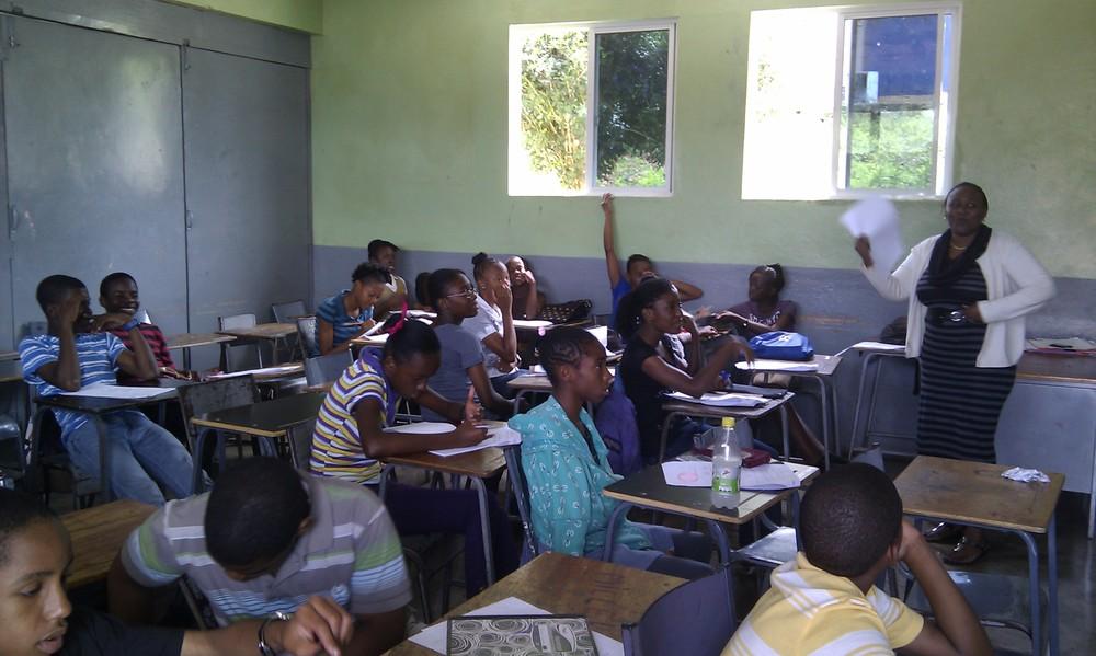 one class doing Maths 2013.jpg