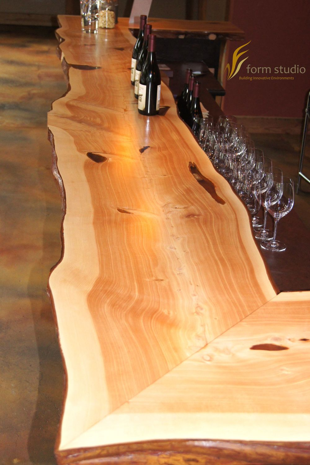 Live Edge Bar Top Innovative Craftsman