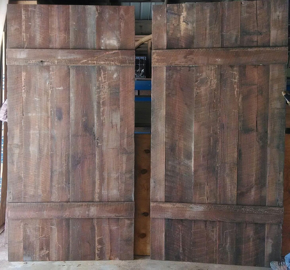 Heart Pine Barn Doors