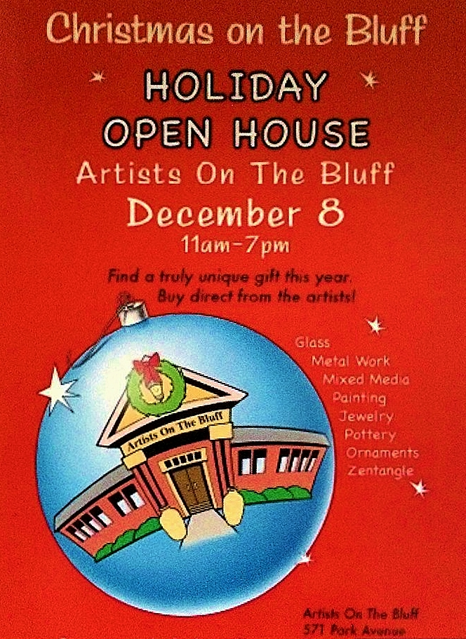 HOLIDAY OPEN HOUSE Artists On The Bluff