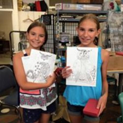 Art Camp with Darla Williamson