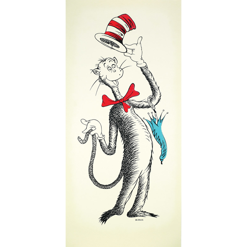 Ted's Cat - The Cat in the Hat 50th Anniversary Print