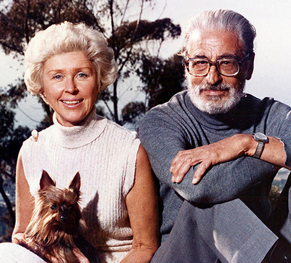 Audrey and Ted Geisel