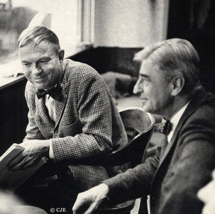 Frequent collaborators, Chuck Jones and Theodor Seuss Geisel.