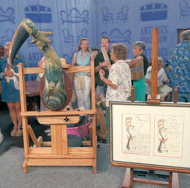 Kangaroo Bird  on PBS's  Antique's Roadshow  in 2005