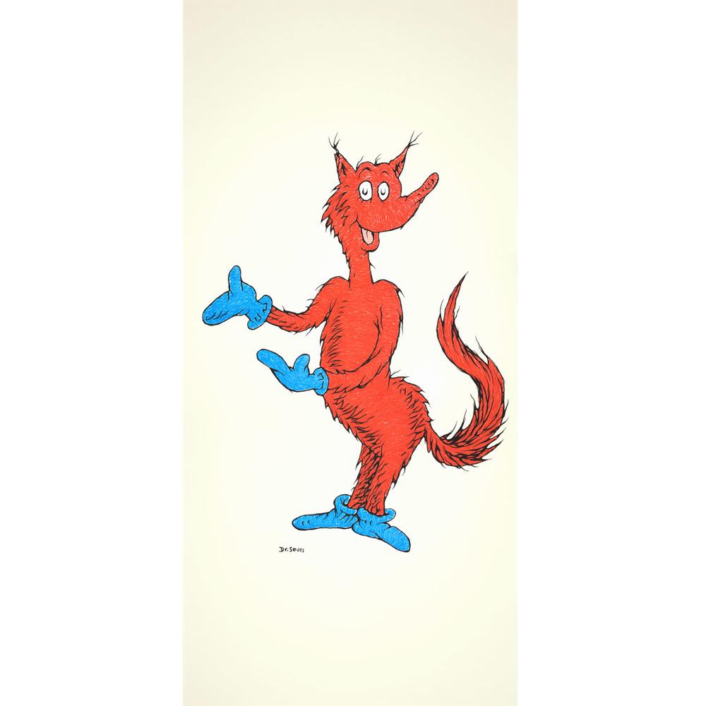 Fox in Socks 50th Anniversary Print