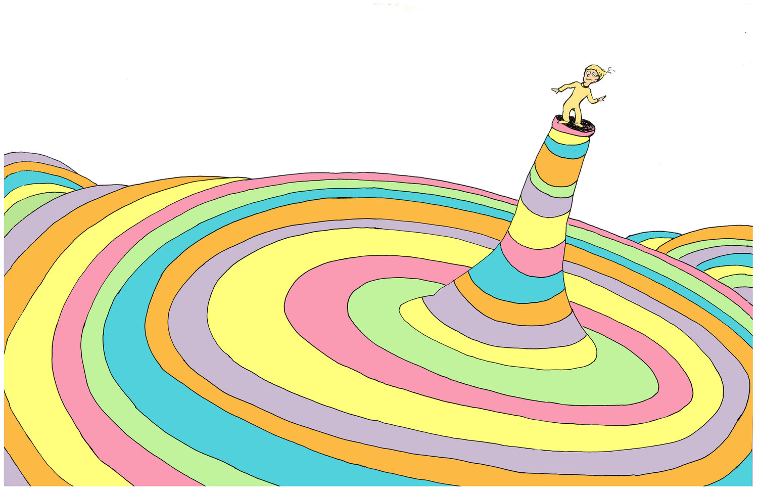 oh the places you ll go cover illustration the art of dr seuss