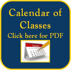 Current calendar of classes for Arthur Murray Reno.